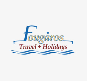 <span>Fougaros Travel & Holidays</span><i>→</i>